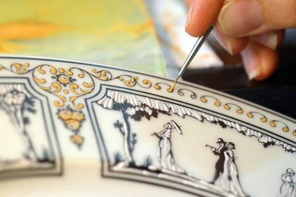 Porcelaine de Limoges. Crédits : tourismelimousin.com
